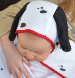 Och wie süß, ein Dalmatiner-Baby!
