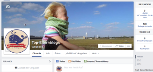 Meine Facebook-Seite, Stand: 01/15