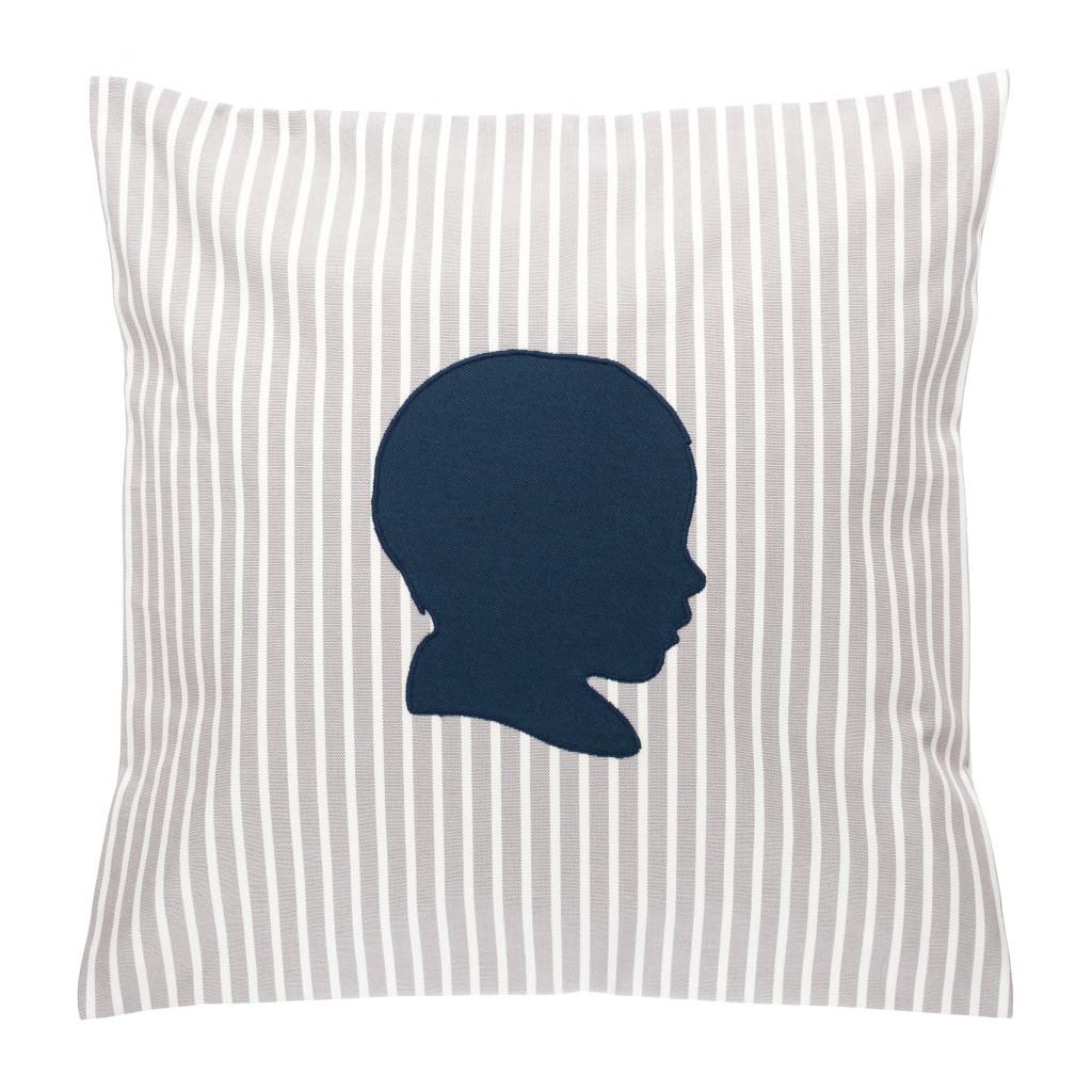 schattenrisse auf stoff. Black Bedroom Furniture Sets. Home Design Ideas