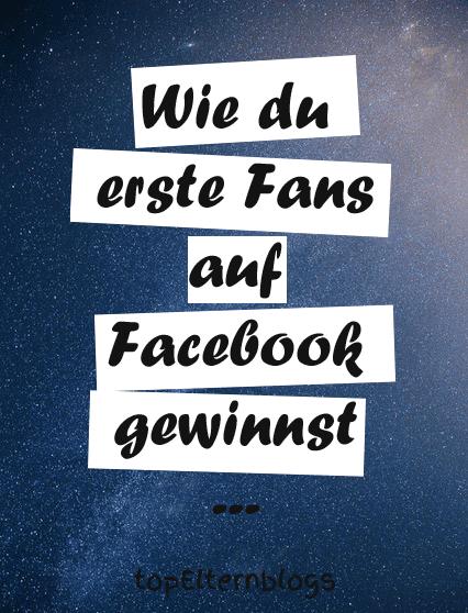 erste fans auf facebook