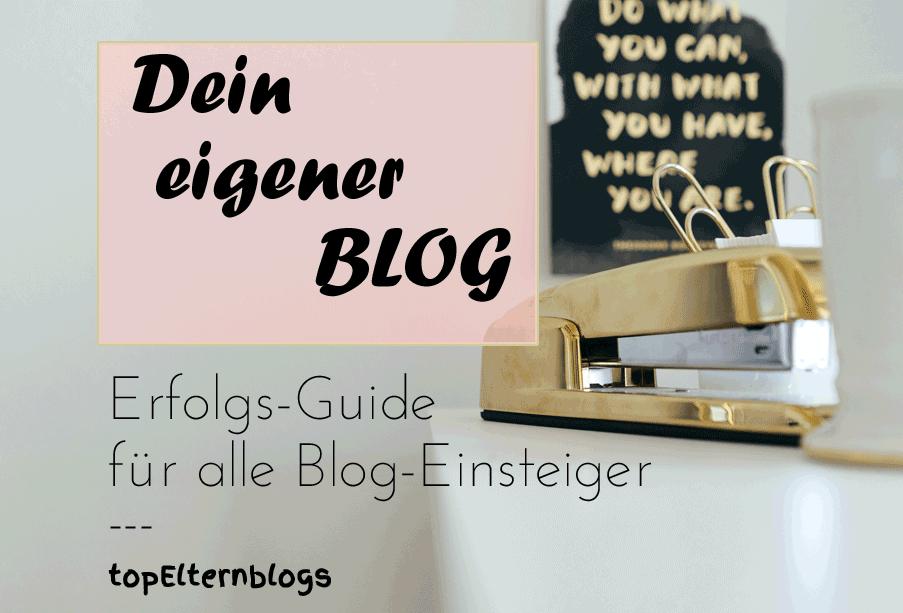 Blog erstellen ebook