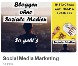 social media marketing für blogger
