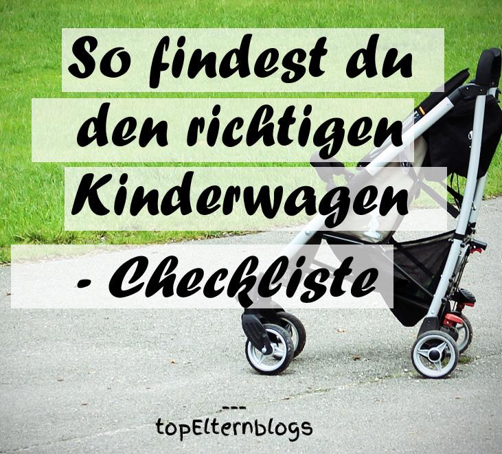 kriterien kinderwagen