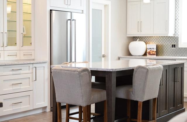 homeoffice in der küche einrichten