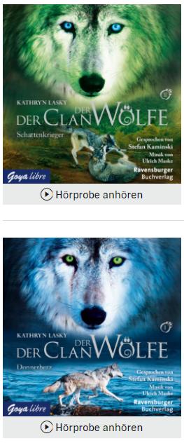 hörbuch empfehlung clan der wölfe