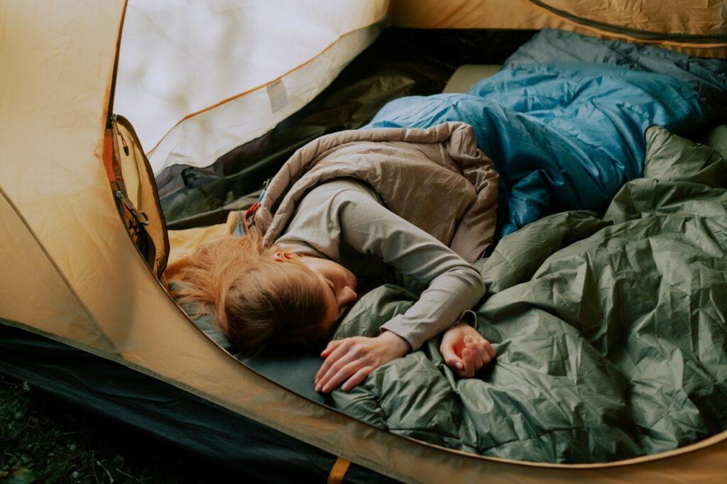 camping bei kälte